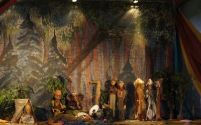 Beeldend theater de Muzen, tentoonstelling