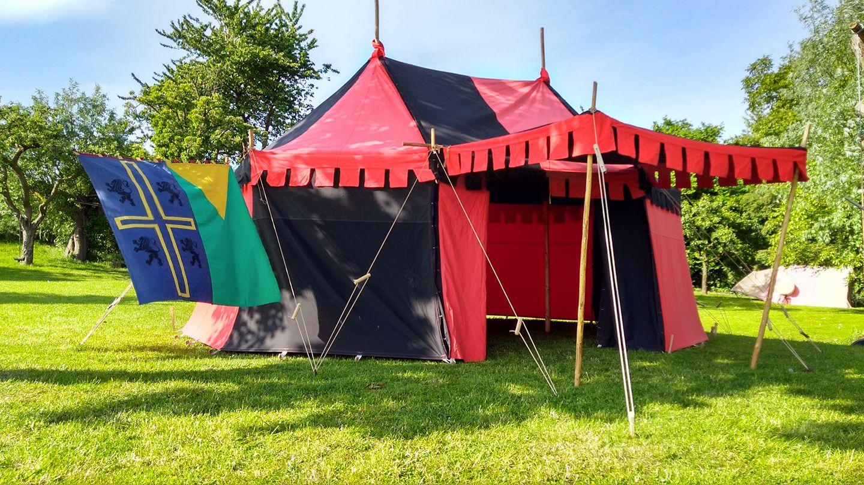 Middeleeuwse tent Tudor 1