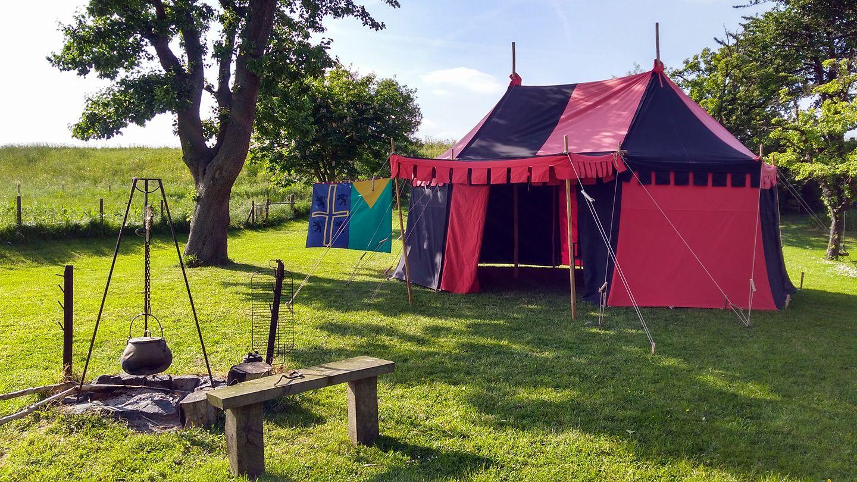 Middeleeuwse tent Tudor 2